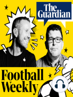 Late play-off drama, a treble treble and joy for Valencia – Football Weekly