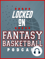 LOCKED ON FANTASY BASKETBALL - 01/10/19 - Top 20 Rookies, Fantasy Check In - Warriors, Rockets, Pacers