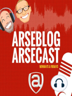 Arseblog arsecast Episode 26 - I nearly swerved off the road