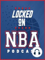 LOCKED ON NBA - June 27th - Nate Duncan joins David Locke about the off-season and what Nate learned from their mock off-season
