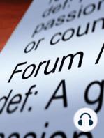 THE FORUM – Sept 15, 2017 / Congressman Kurt Schrader at Demo-Forum