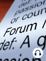 The Forum – 11/20/2015 – Delivering the Fruits of Their Labors