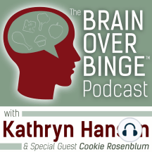 Episode 47: Q&A: What If I'm Overeating After I Stop Binge Eating?: In Episode 47, Kathryn discusses a question about overeating. She explains that when binge eating stops, there may be other eating habits to work on, but those habits can be improved in a gradual and sustainable way.