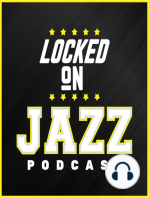 LOCKED ON JAZZ - April 19th - Reaction to Game #2, Concerns and Areas to be pleased