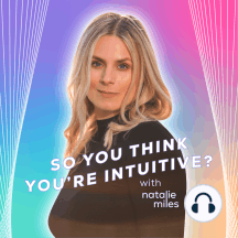 """Ep 38: Intuition Conversations: Jessica Lanyadoo on Creating Healthy Boundaries to Develop Your Intuitive Gifts: This week we're joined by astrologer, psychic medium and host of """"Ghost of a Podcast"""" Jessica Lanyadoo. It can be overwhelming when you first connect to your intuition. It can feel like you're not in control and that you can't turn off your..."""