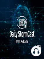 ISC StormCast for Wednesday, June 26th 2019