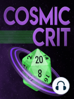 Introducing Cosmic Crit, a Starfinder Actual Play Podcast