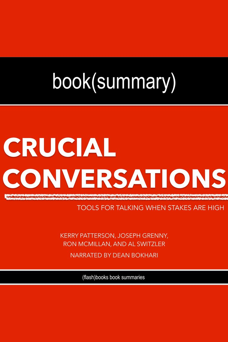 CRUCIAL CONVERSATIONS AND CRUCIAL CONFRONTATIONS VALUE By ...