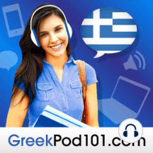 Lower Intermediate Greek Grammar and Culture S1 #1 - Have You Done Something Wrong At Your Greek Job?: learn how to use onomatopoeic words in Greek using an informal conversation as an example