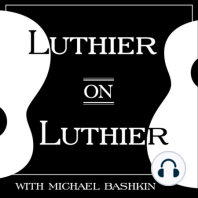 """51. Ian Davlin (""""Ian Hates Guitars""""): Ian Davlin, who goes by the online moniker """"Ian Hates Guitars,"""" may have a complicated relationship with guitars, but he sure is good at fixing them. For episode 51 of Luthier on Luthier, Ian tells us about working for Breedlove Guitars and his..."""