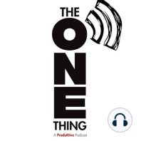 How ONE FedEx Leader Used The ONE Thing to Achieve Extraordinary Results, with Bob Minford, VP Airline Technology: Bob Minford of FedEx shares how adopting The ONE Thing in their company led to incredible changes and may have saved them when the pandemic started.