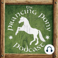 """106 - Questions After Nightfall 5: It's time once again for Alan and Shawn to welcome several visitors to the Prancing Pony! Hear us stay mostly on topic as we attempt to answer live, unscripted """"Ask Me Anything""""–style questions about The Lord of the Rings and much more. We revisit..."""
