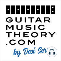 Ep91 The Major Scale Contains Six Pentatonic Scales: In this free guitar lesson, I'm going to show you how the major scale contains six different pentatonic scales. Knowing this will help you understand the construction of scales, keys, and how you might want to change pentatonic scales over chords...
