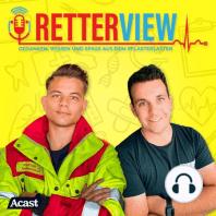 Retterview Folge 3 - Ausbildung zum/r Rettungs-/Notfallsanitäter*in: Schule, Bewerbung, Ausbildung, Laufbahn, Gehalt