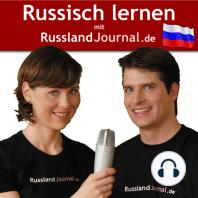 093 Konjunktiv im Russischen.: Wenn wir im Urlaub wären, würden wir nach Russland reisen. Wenn Du angerufen hättest, hätte sie sich keine Sorgen gemacht.