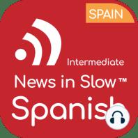News in Slow Spanish - #635 - Spanish Course with Current Events: En la primera parte del programa, hablaremos de algunas de las noticias que acapararon titulares esta semana. Comenzaremos con el Medio Oriente y la escalada de la violencia entre palestinos e israelíes. Comentaremos el ataque al oleoducto de una...