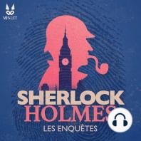 """Sherlock Holmes • Silver Blaze • Partie 5 sur 5: ??? Le cheval """"Silver Blaze"""" est donné favori pour la Wessex Cup. Mais il a disparu et son entraîneur, John Straker, est trouvé mort dans la lande de Dartmoor. Sherlock Holmes est invité par le propriétaire du cheval, le colonel Ross, à élucider c..."""