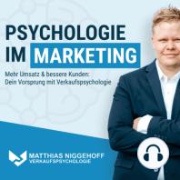 Neuromarketing Insights - Als Anbieter nicht mehr vergleichbar sein und die Nummer 1 im Kopf werden: Raus aus der Vergleichbarkeit - Mit Dr. Rene Delpy