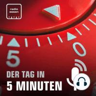#465 Der 21. September in 5 Minuten: Robert Habeck in Essen + Essener Schüler würden CDU wählen + Webcams gegen Stau an Recyclinghöfen