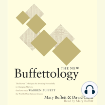 The New Buffettology: How Warren Buffett Got and Stayed Rich in Markets Like This and How You Can Too!