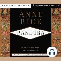Pandora: New Tales of the Vampires, Book 1