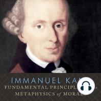 Fundamental Principles of the Metaphysics of Morals