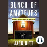 Bunch of Amateurs: A Search for the American Character