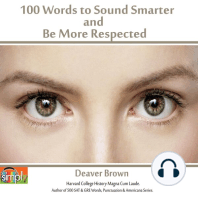 100 Words to Sound Smarter and Be More Respected