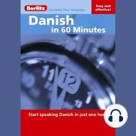 Danish in 60 Minutes