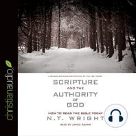 Scripture and the Authority of God