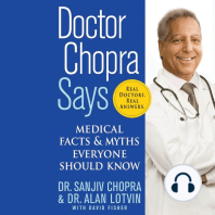 Doctor Chopra Says: Medical Facts & Myths Everyone Should Know