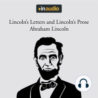 Lincoln's Letters and Lincoln's Prose