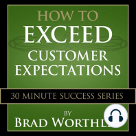How to Exceed Customer Expectations