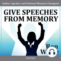 Give Speeches from Memory