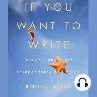 If You Want to Write