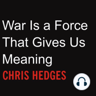War Is a Force That Gives Us Meaning