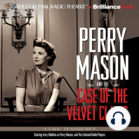 Perry Mason and the Case of the Velvet Claws