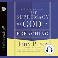 The Supremacy of God in Preaching