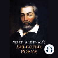 Walt Whitman's Selected Poems