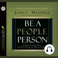 Be a People Person