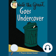 Nate the Great Goes Undercover