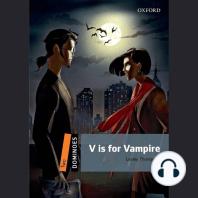 V is for Vampire