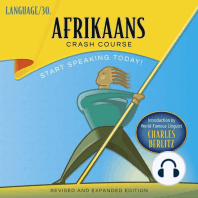 Afrikaans Crash Course