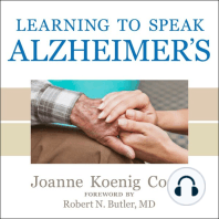Learning to Speak Alzheimer's