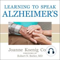 Learning to Speak Alzheimer's