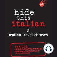 Hide This Italian Book: & Italian Travel Phrases