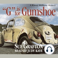G Is for Gumshoe