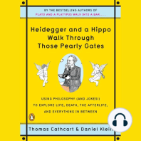 Heidegger and a Hippo Walk Through Those Pearly Gates