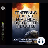 Concerning the End for Which God Created The World