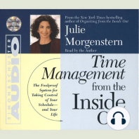 Time Management From The Inside Out